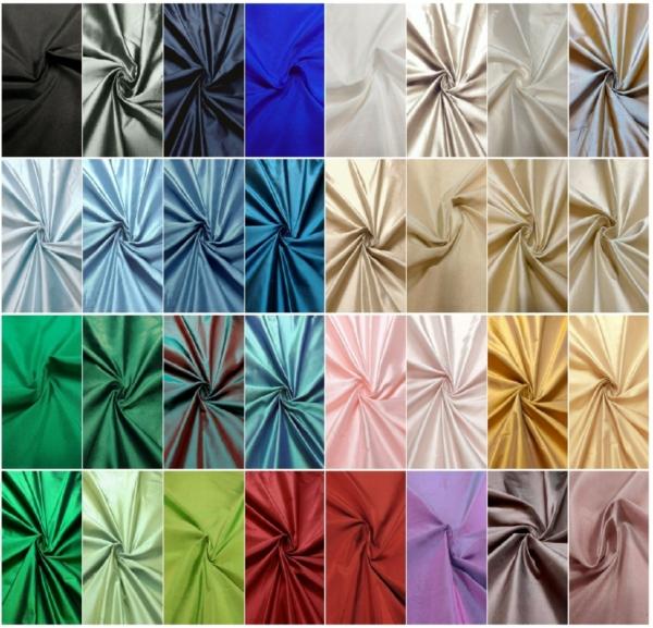Dupion Seide alle Farben