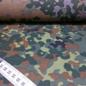Baumwoll Stoff Camouflage
