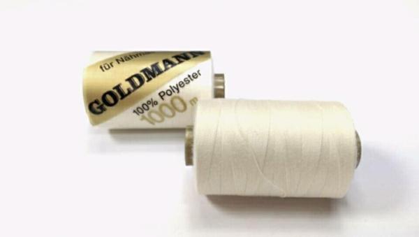 Goldmann Nähgarn Ecru 1000 m