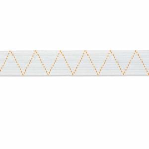 Standard-Elastic, 7mm, weiß, 5 Meter
