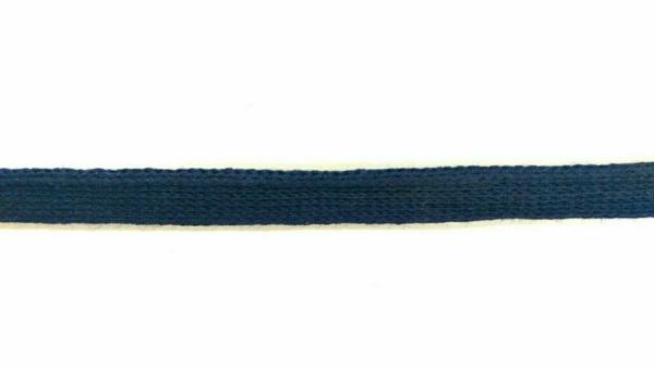 Baumwolle Paspelband Navy 8mm Breite