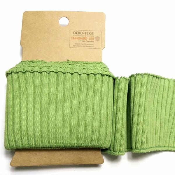 Fertig-Bündchen Grün