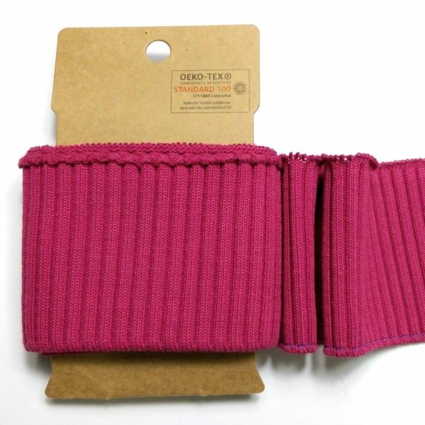 Fertig-Bündchen Pink