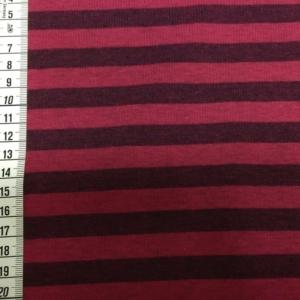 Sweatshirt Pink Meliert mit Streifen