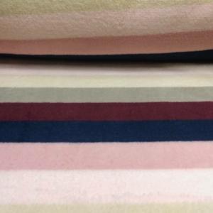 Wellness Fleece Streifen