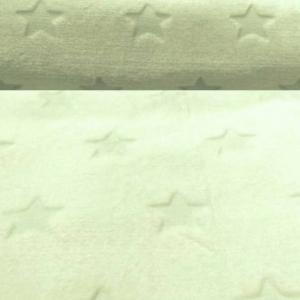 Wellness Fleece Mint mit Sterne