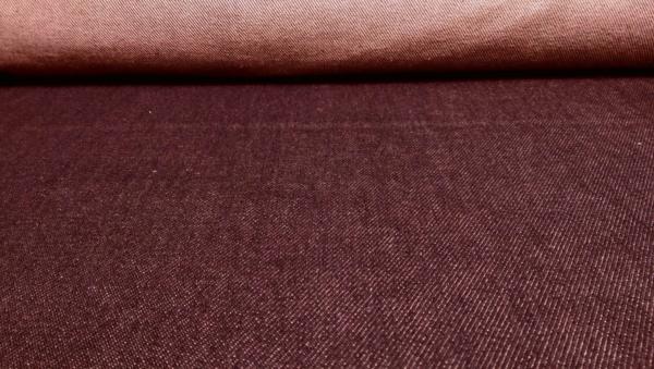 Jeans Stoff Bordeaux