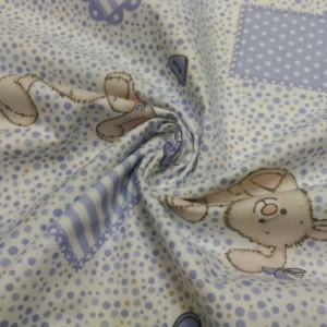 Baumwolle Stoff 290 cm Breit mit Teddy`s