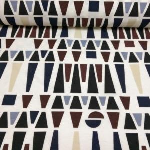 Dekostoff mit Geometrischen Muster