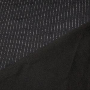 Punto Milano Jersey mit Nadelstreifen