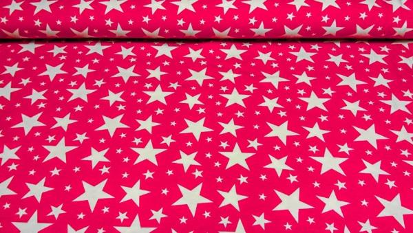 Baumwoll Jersey mit Sternen