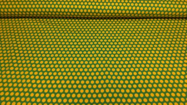 Baumwoll Jersey mit Punkten