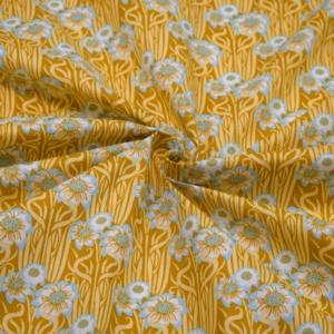 Baumwoll Stoff mit Blumen