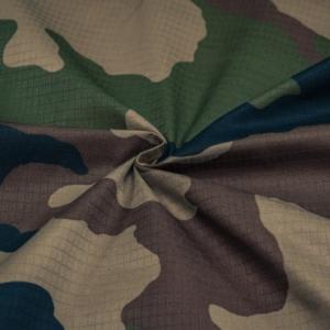 Baumwoll/Dekostoff mit Camouflage Muster