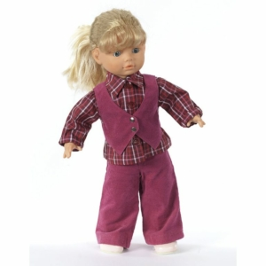 Burda Schnittmuster 7753 Puppenkleider Kombination