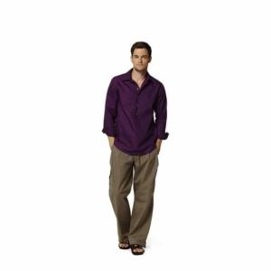 Burda Schnittmuster 7525 Herren Hemd in drei Variationen