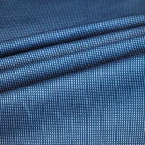 Baumwoll Hemd Stoff fein gemustert