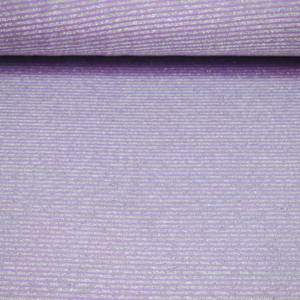 Viskose Jersey Stoff mit Glitter Streifen