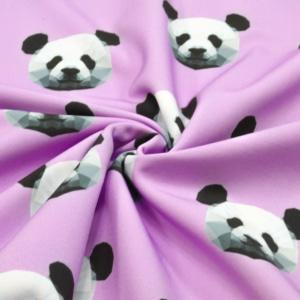 Softshell Stoff mit Panda